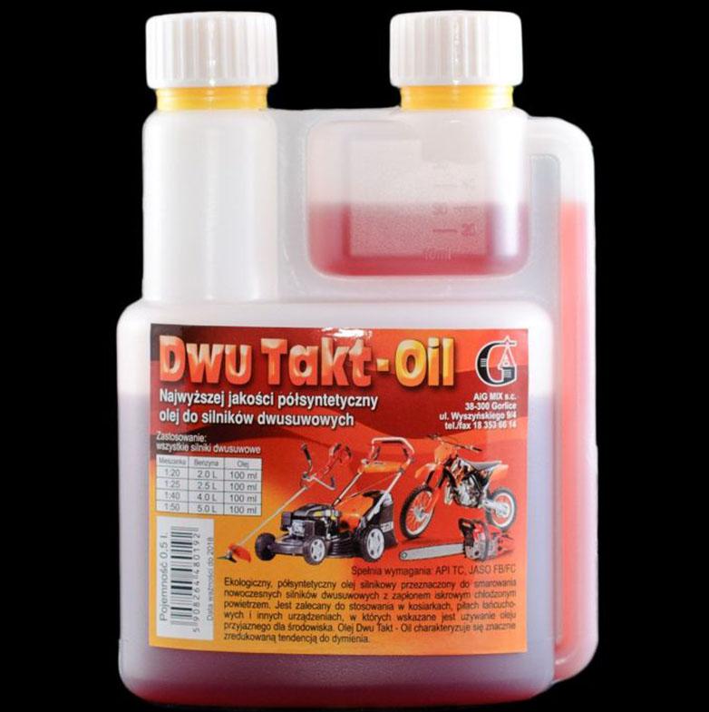 Dwu Takt-Oil 0,5l butelka z dozownikiem