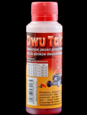 Dwu Takt-Oil 100 ml. butelka zabezpieczona dodatkowo aluminiowym kabzlem +zakrętka