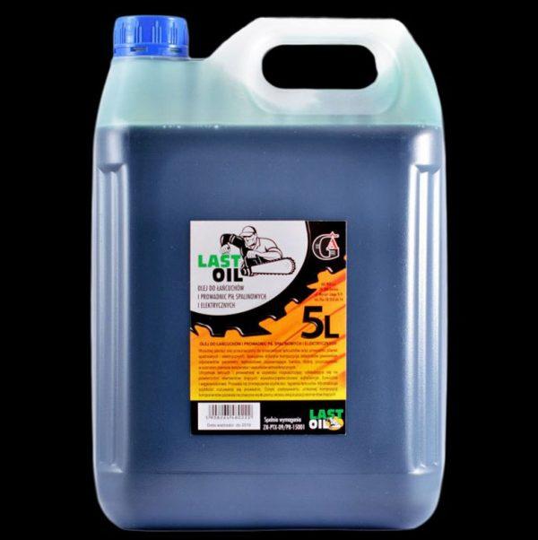 LastOil pojemność 5l - Olej do łańcuchów i prowadnic pił spalinowych i elektrycznych.