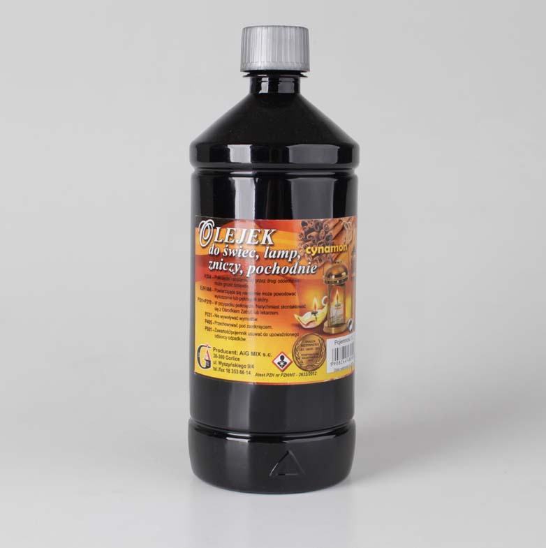 Olejek do świec, lamp, zniczy - cynamon 1l